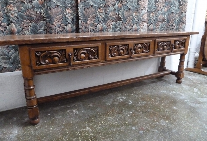 French style elegant console table