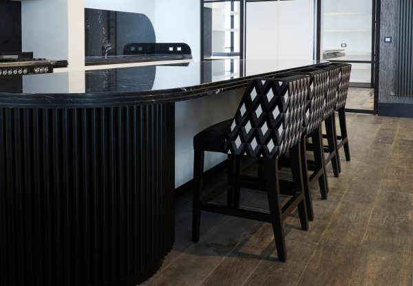 French style modern wingback bar and kitchen stool
