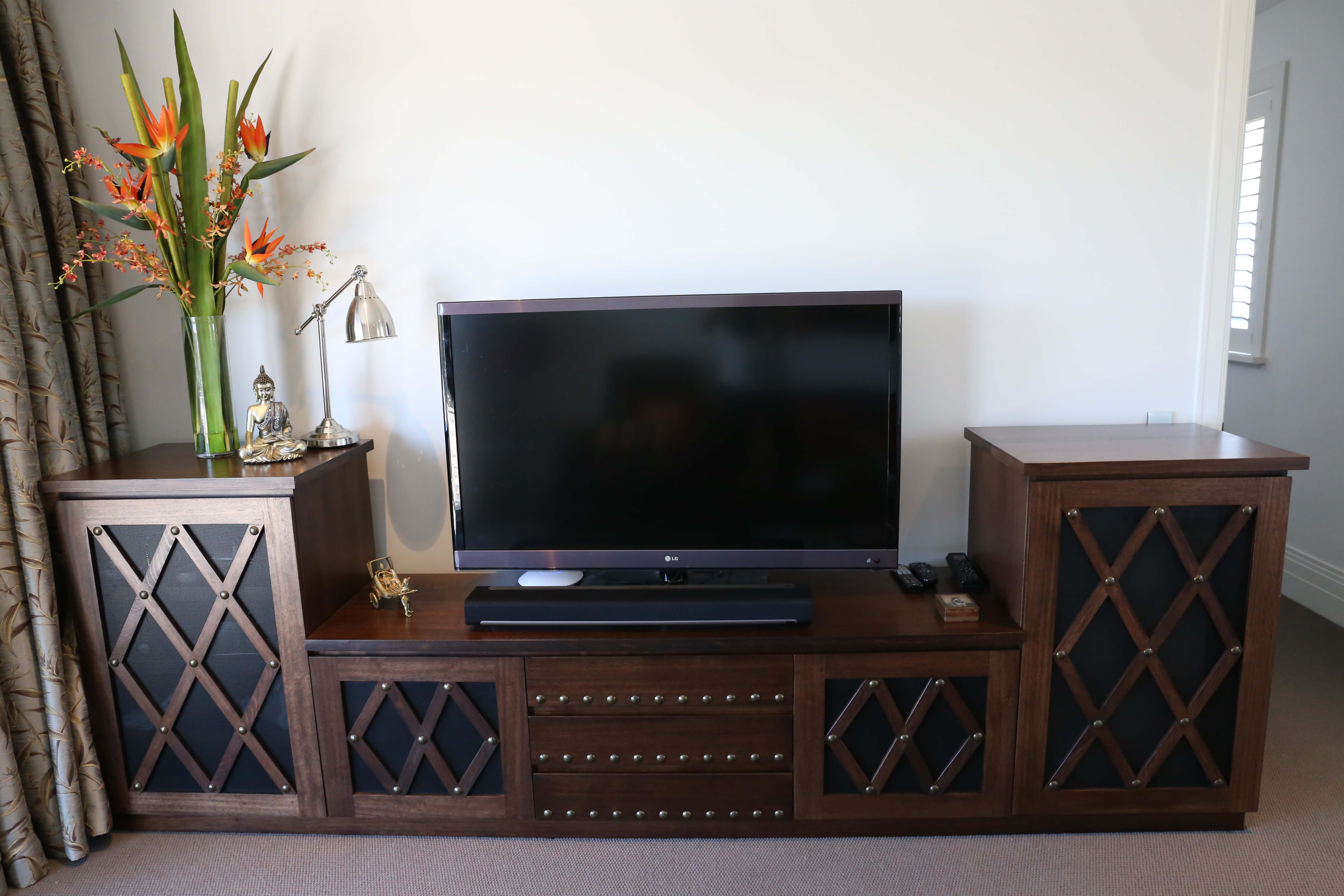 Australian Made Entertainment Unit Sideboard