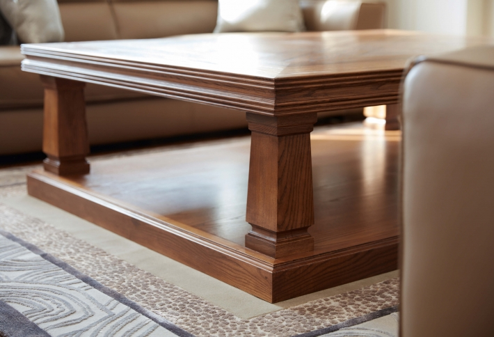 French style Australian Made Parquetry Coffee Table