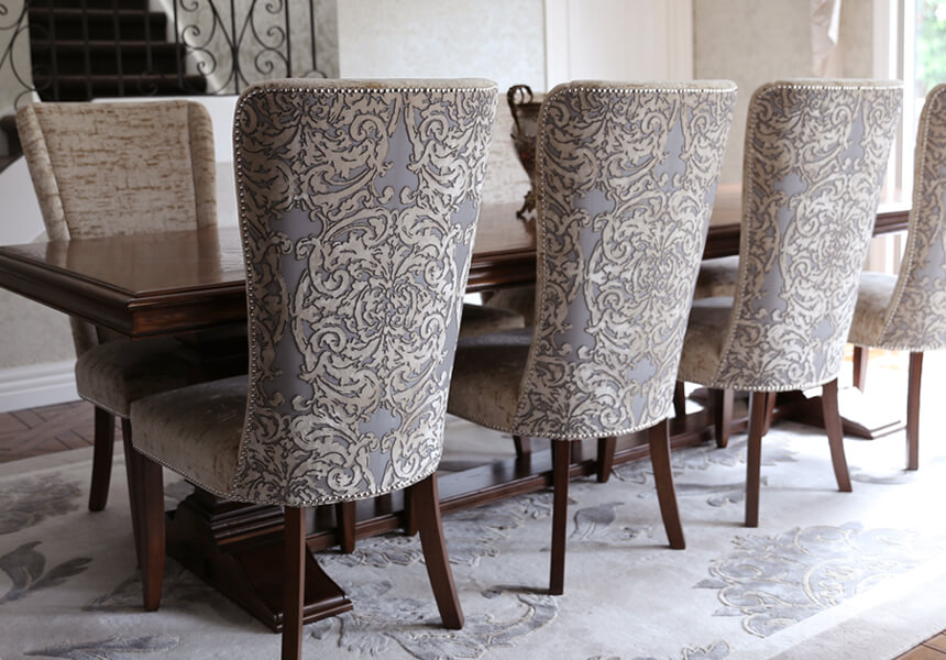 French style luxury chairs