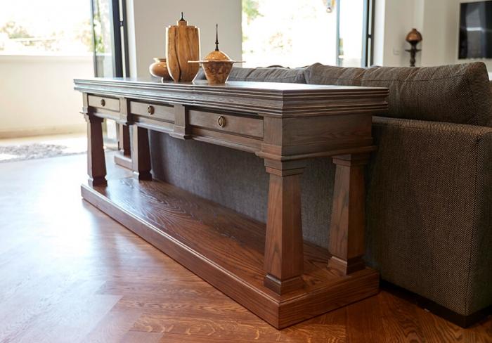 French style oak sideboard